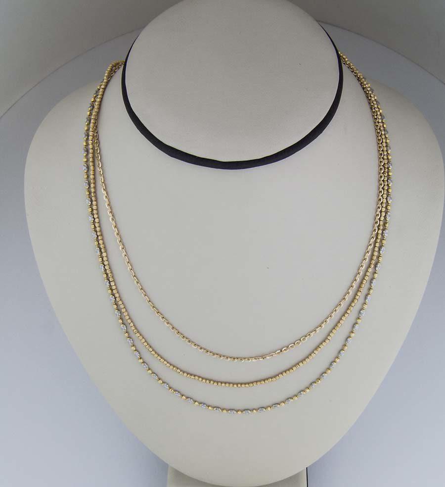 18k ovalina chains