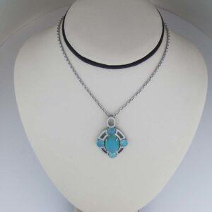 Rare Peruvian Opal Pendant