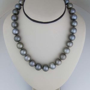Large 13-14mm Tahitian Pearl Necklace