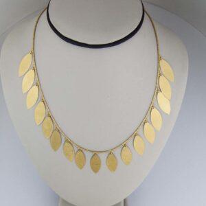 24k handmade necklace