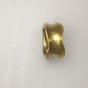 Handmade 18kt yellow gold ring