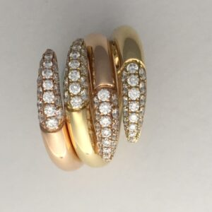 Funky interlocking rings