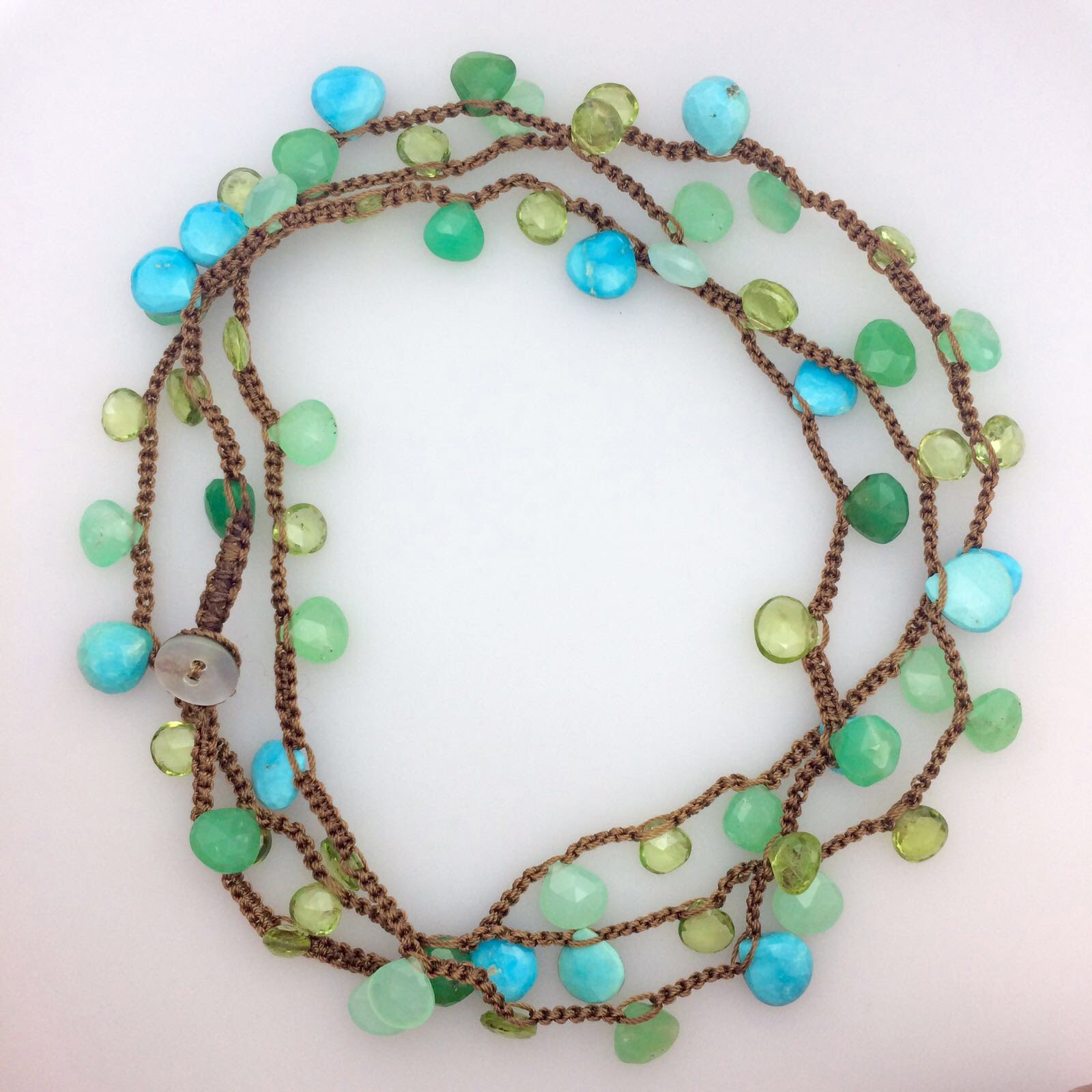 semi precious necklace